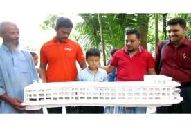 ১১ বছরের শিশু লঞ্চ তৈরি করে আলোড়ন সৃষ্টি করলো চাঁদপুরে