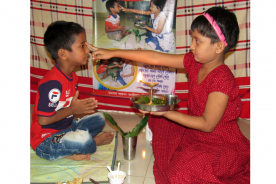 কুমিল্লায় উৎসাহ উদ্দীপনায় হিন্দু ধর্মাবলম্বীদের ভাইফোঁটা উৎসব পালিত